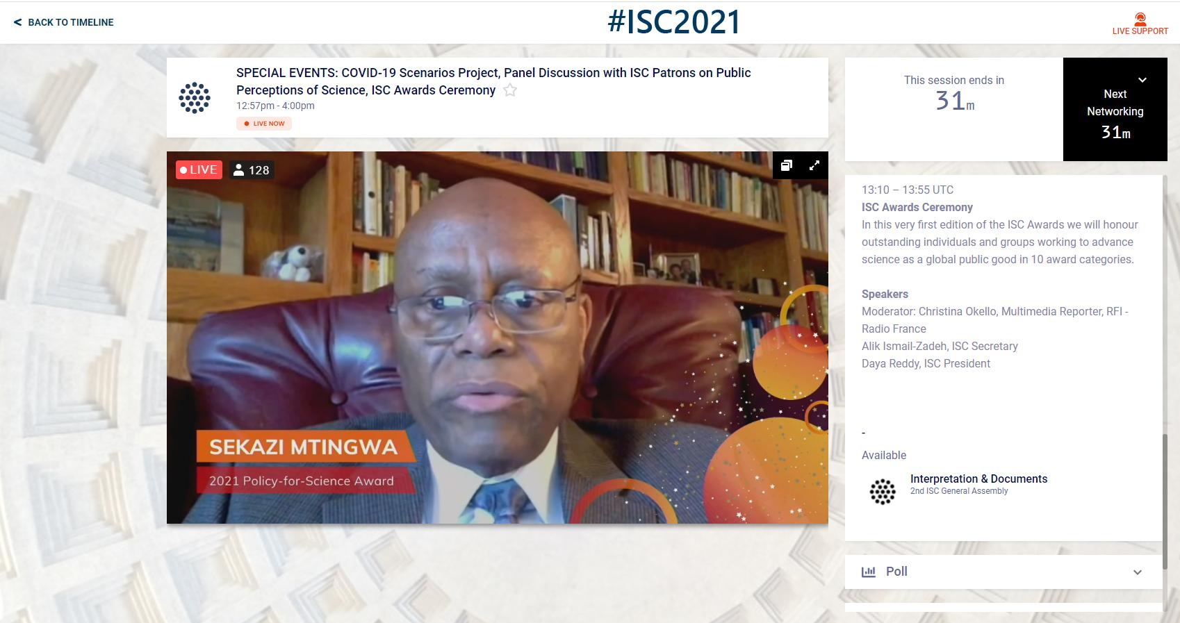 Sekazi_ISCaward2021